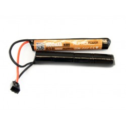 Batterie NiMh 2 éléments 9,6v/1600 mAh nuprol
