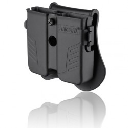 PORTE CHARGEUR double amomax 9mm