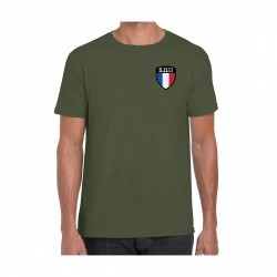 t-shirt 5.11 FLAG SHIELD FRANCE 2020