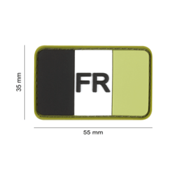 Patch france pvc forest