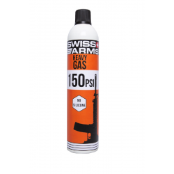 "Bouteille de gaz Swiss arms ""M4"" Heavy (150 PSI) sec 760 ml"