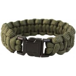 bracelet paracorde miltec noir