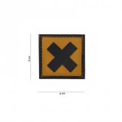 Patch PVC croix irritant
