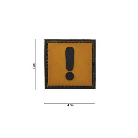 Patch PVC exclamation