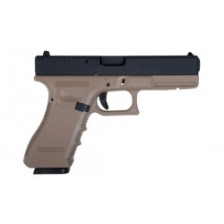 SAIGO MK1 GAS BLOW BACK METAL SLIDE TAN