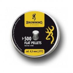 PLOMBS PLATS BROWNING 4.5 BOITE DE 500