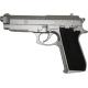PT92 silver Co2 6mm tout metal 15BILLES