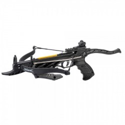 Arbalete MAN KUNG RECURVE CROSSBOW PISTOL ALLIGATOR TCS1 80 LBS BLACK