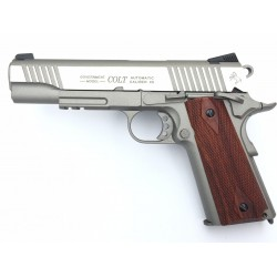 Colt 1911 rail gun CO2 Inox