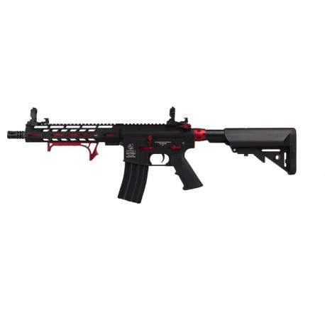 Colt M4 Hornet Red Fox Ed. AEG Full metal 300 BBS 1J Mosfet