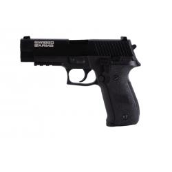 SA Navy Pistol railed 20 bbs GBB Gas Full metal 0,9 J