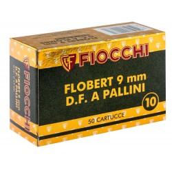 CARTOUCHES 9 MM FLOBERT À GRENAILLE DE PLOMB N°10