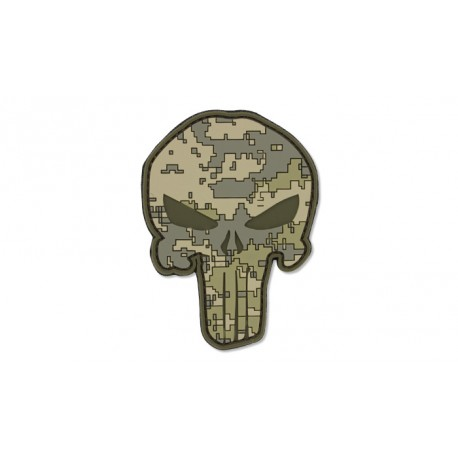 Patch PVC punisher UCP digital