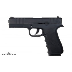 STINGER MK1 BLOWBACK CULASSE METALLIQUE NOIR CO2 4.5