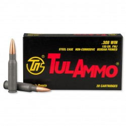MUNITION TULAMMO CAL 308 WIN