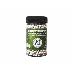 BILLES AIRSOFT 6MM ACCURACY INT. 0.48G X 1000 BLANCHES
