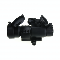 JJ AIRSOFT M2 Red Dot with Killflash (Black)