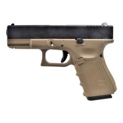 Pistolet G19 WE Black/Tan