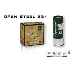 Cartouches Mary Arm Calibre 12 Open Steel 32g Acier 6