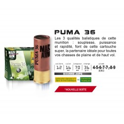 Cartouches Mary Arm Calibre 12 Puma 36g 5