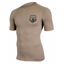 TEE-SHIRT TROUPE DE MARINE COYOTE - Taille S