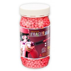 Billes Tracer Rouge 0.25g (2400Bbs)