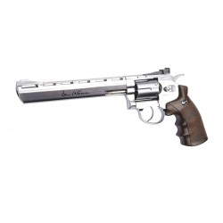 "Dan Wesson 8"" silver CO2"