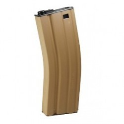 Chargeur M4 G&G 450 coups tan