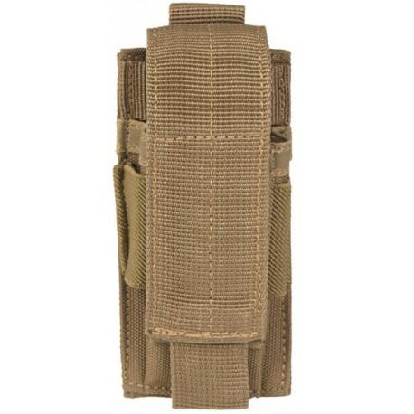 Porte chargeur pistolet simple Miltec Tan