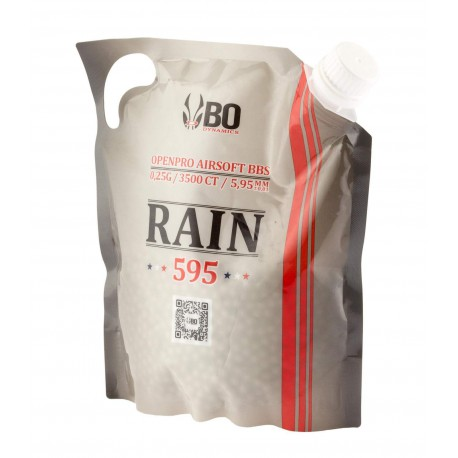 Billes BO RAIN 595 - 3500 rds - 0,25g