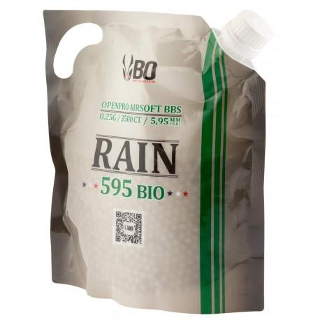 Billes BO RAIN 595 BIO - 3500 rds - 0,25g