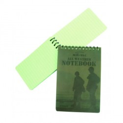 CARNET ÉTANCHE WATERPROOF GRAND