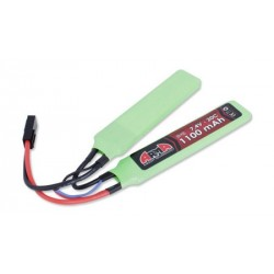 Batterie Lipo Arma Tech 7.4V 1100mAh 20C Double Stick