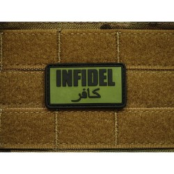 "Patch 3D PVC ""Infidel"" - OD"