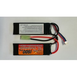 Batterie Lipo VB power 7.4V 1500mah double stick