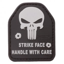 "Patch 3D PVC ""SAPI Skull / Strike Face Handle With Care"""