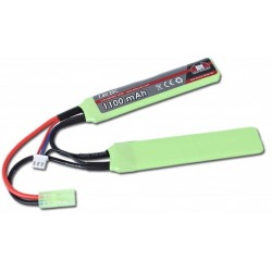 Batterie LIPO 7.4V 1100MAH 20C STICK TYPE