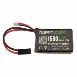 Batterie NUPROL LIPO 7.4V 1500mha